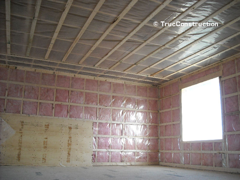 Isolation plafond garage for Isolation thermique sol garage