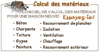 Devis des mat riaux for Calcul budget maison