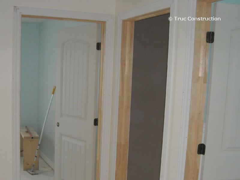 les cadres de porte int rieure. Black Bedroom Furniture Sets. Home Design Ideas