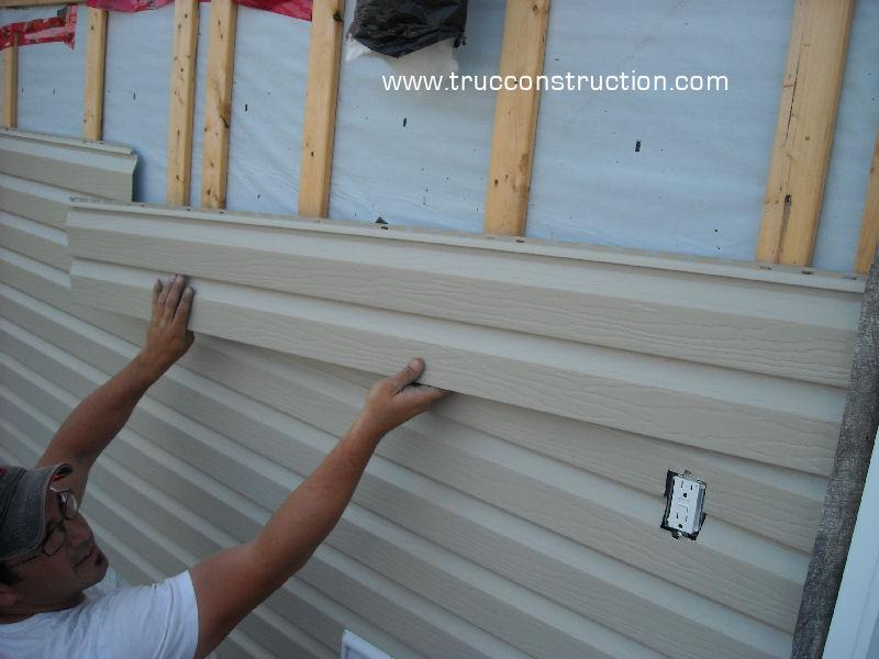 Le parement en aluminium for Revetement exterieur maison vinyle